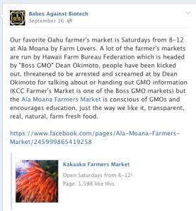 babs farmers